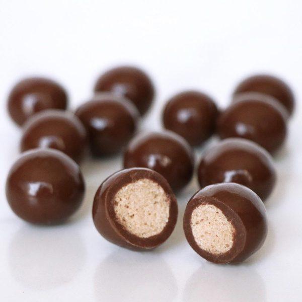 milk chocolate maltballs