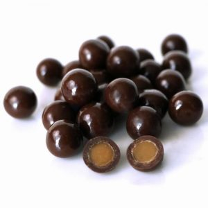 Dark Chocolate Coconut Milk Caramels