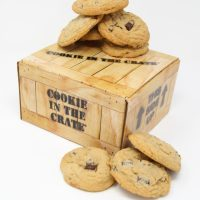 dozen chocolate chip cookies cookie in the crate gift box