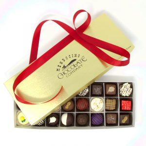 assorted chocolates half and half deluxe