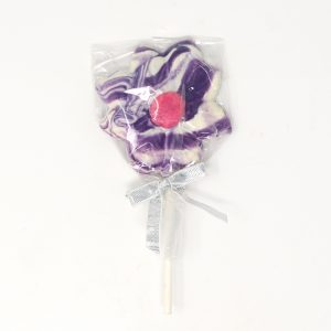 chocolate daisy lollipop