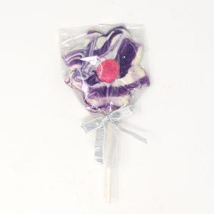 chocolate daisy lollipop
