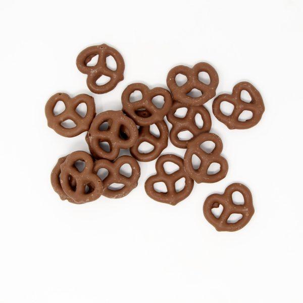 milk chocolate pretzels