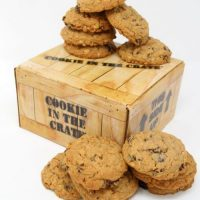 oatmeal raisin dozen cookies cookie in the crate