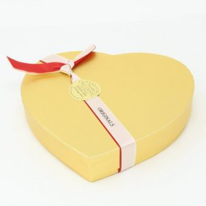 originals in small gold heart box - closed