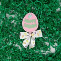Happy Easter Egg Lollipop