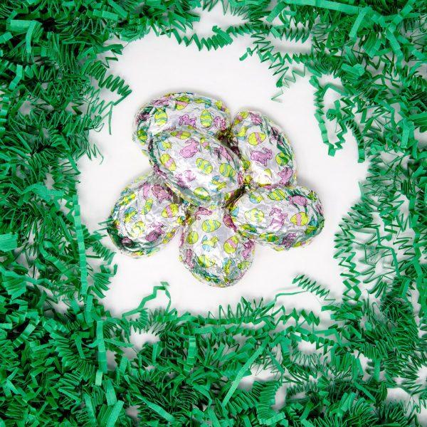 foiled chocolate eggs