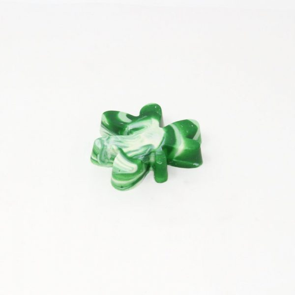 st patricks day shamrock white chocolate